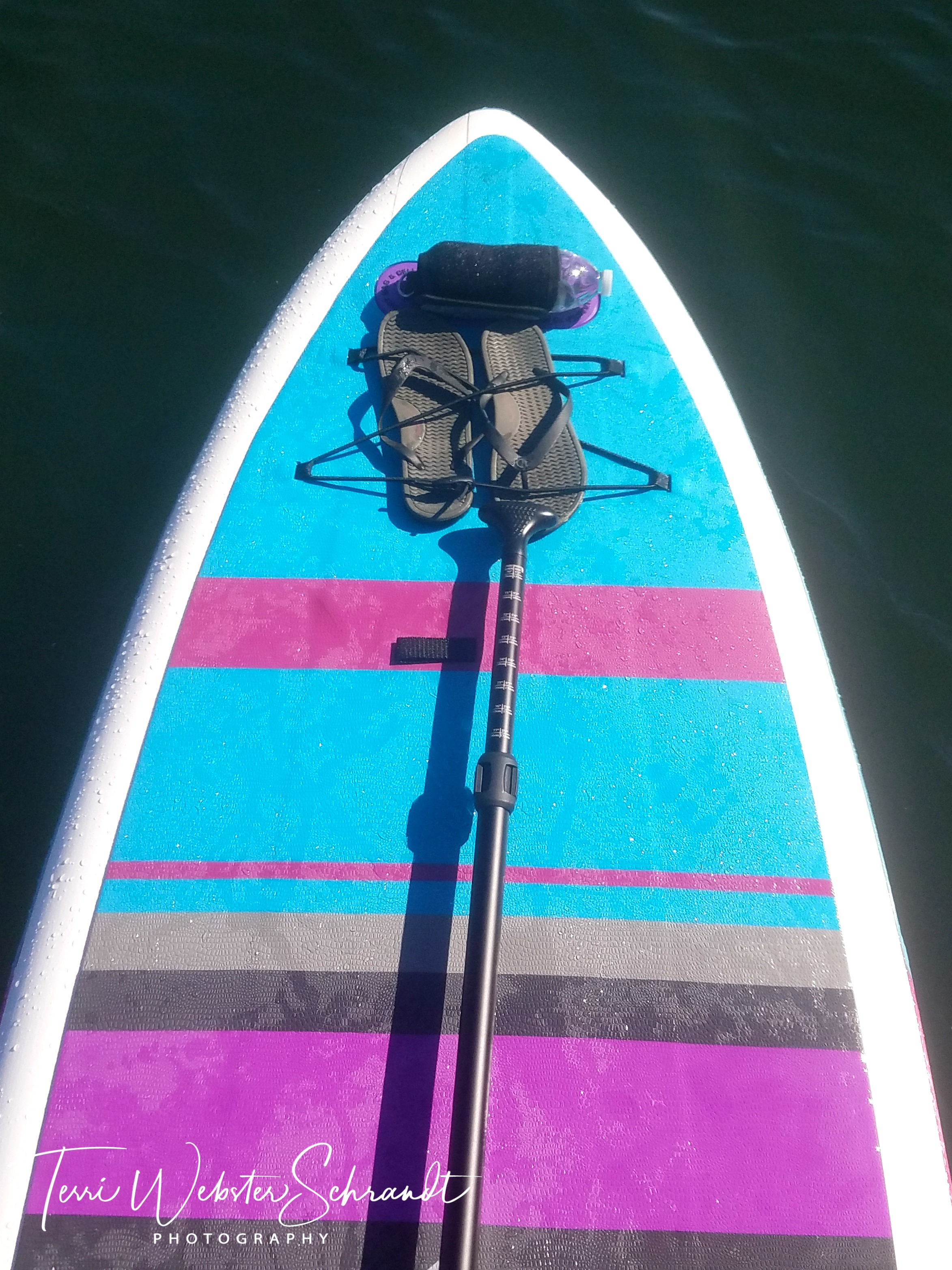 Sunday Stills: Water, #Water Everywhere, My #Paddleboard Can Shrink