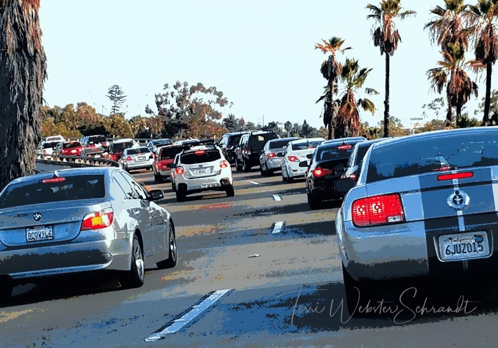San Diego Freeway traffic