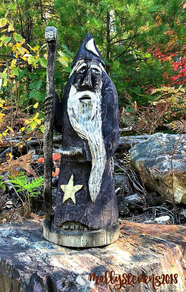 Textured woodland gnome