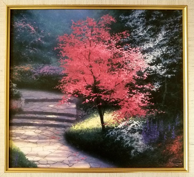 Painting Pink Tree