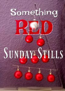 Sunday Stills Red Graphic