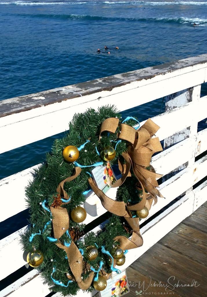 Wreath on Pier