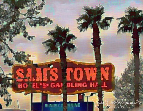 Sam's Town Sign