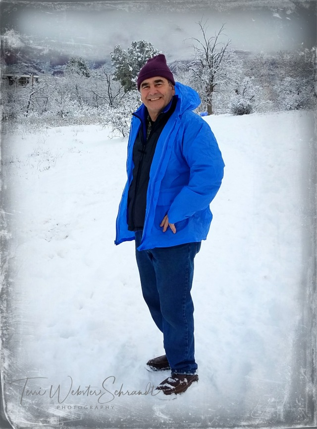 Man in the snow