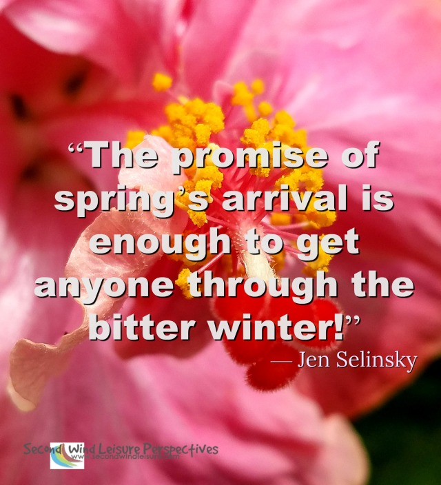 The promise of spring's arrival