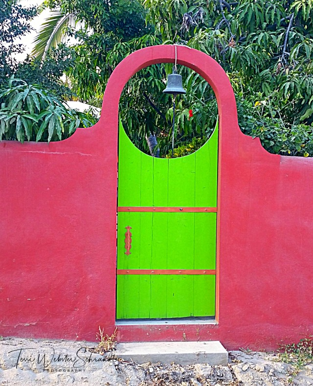 Pink and Green Gate