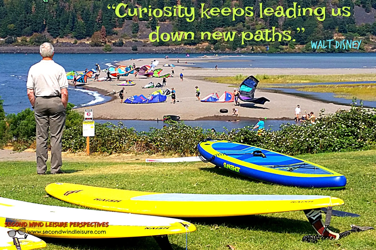 Curiosity Leads to new Paths Quote