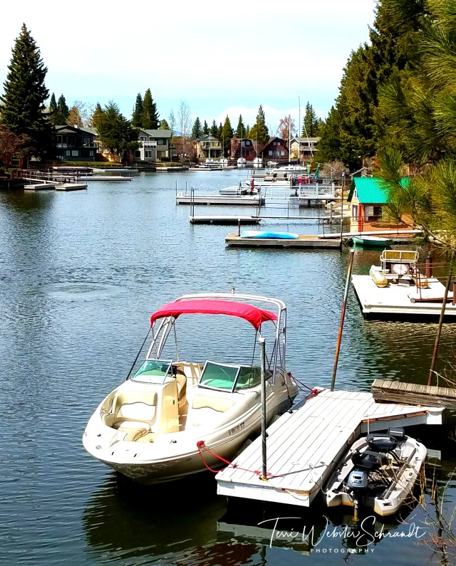 Boats in Tahoe Marina