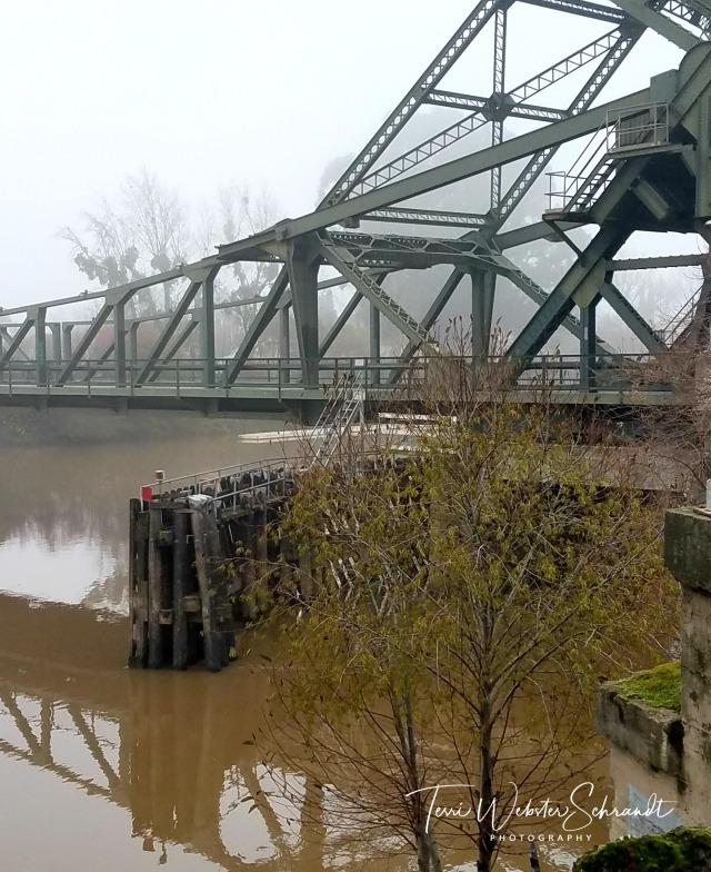 Triangles on the Walnut Grove Bridge