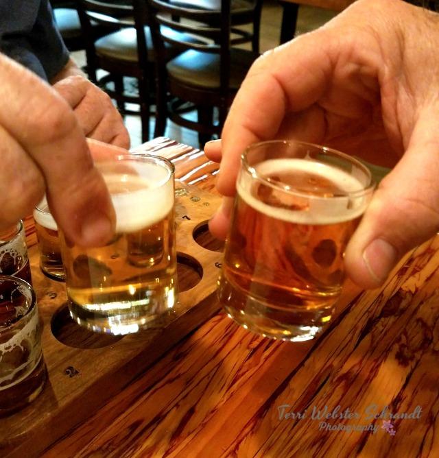 Tasting good beer