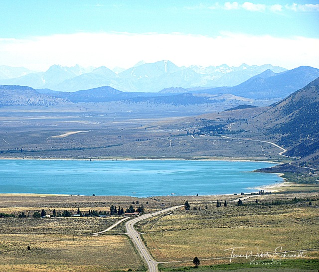 View of Mono Lake