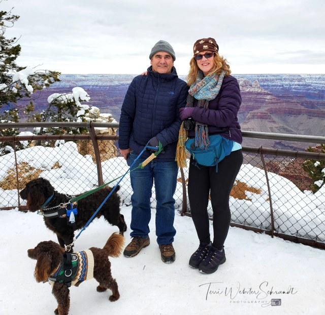 Winter in South Rim of Grand Canyon