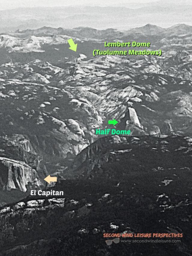 Yosemite Peaks from Afar