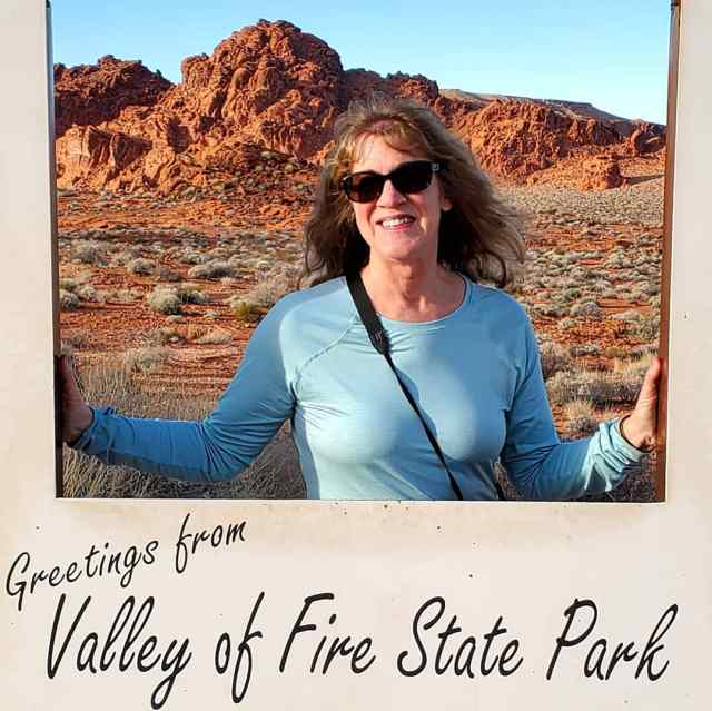 Hello from Valley of Fire