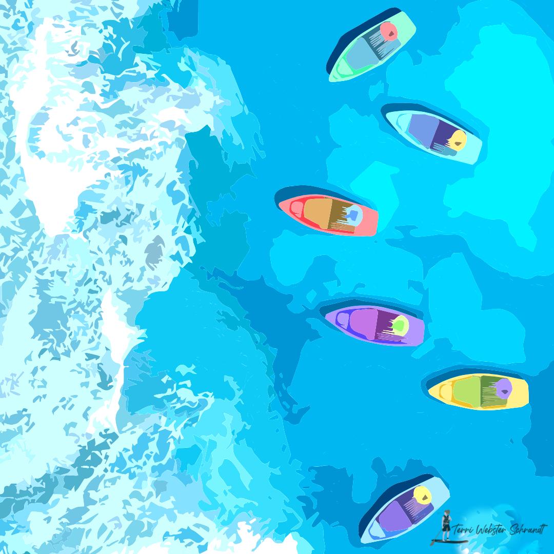 Sunday Stills: Life in a #Waterworld