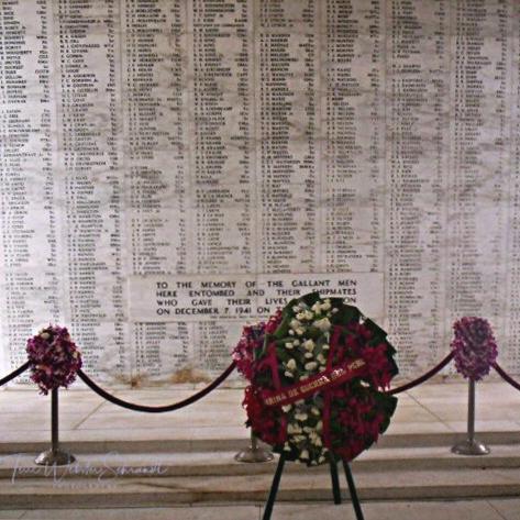 Inside Arizona Memorial