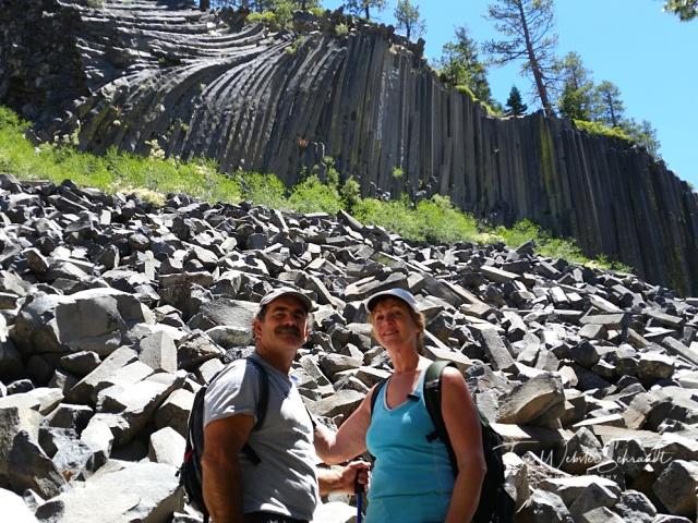 Visiting Devil's Postpile Mammoth Lakes