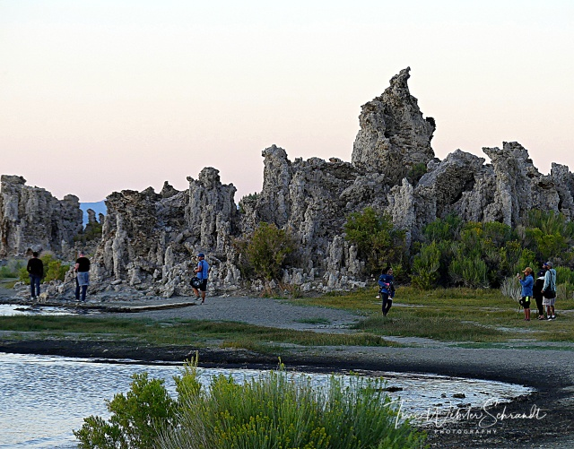 Mono Lake Tufa Towers Perspective