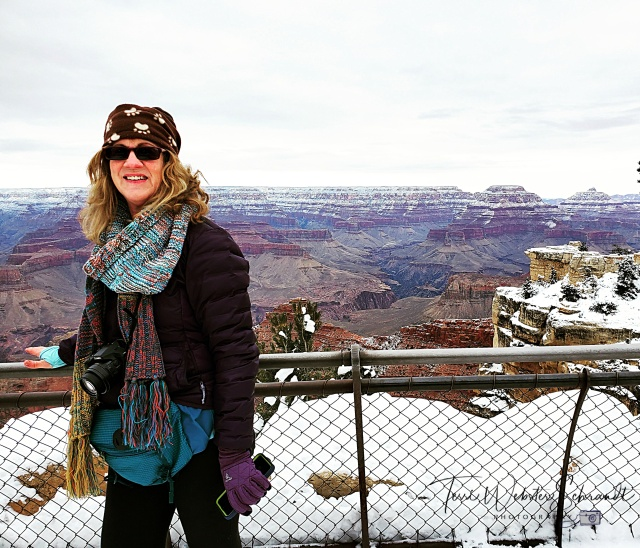 Winter View of Grand Canyon