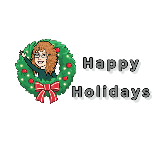 signature holiday wreath graphic