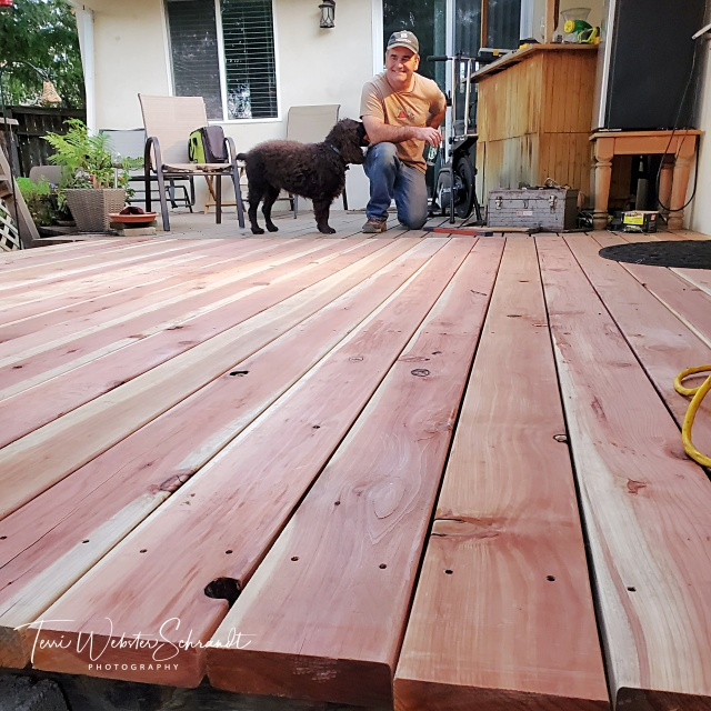 Fixing a new deck
