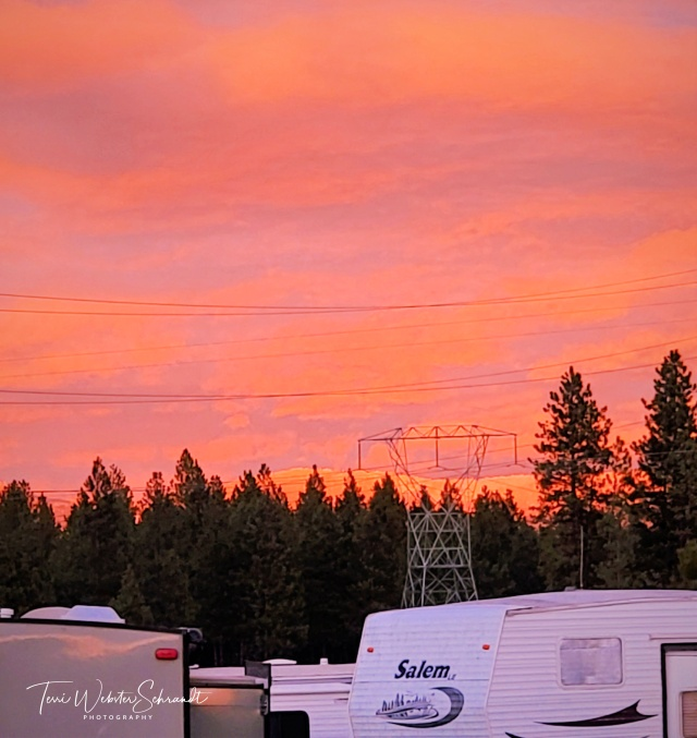 Rosy sunset RV park