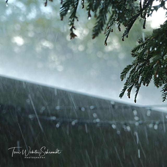abstract rainy day