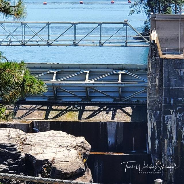 Angles at Post Falls Dam