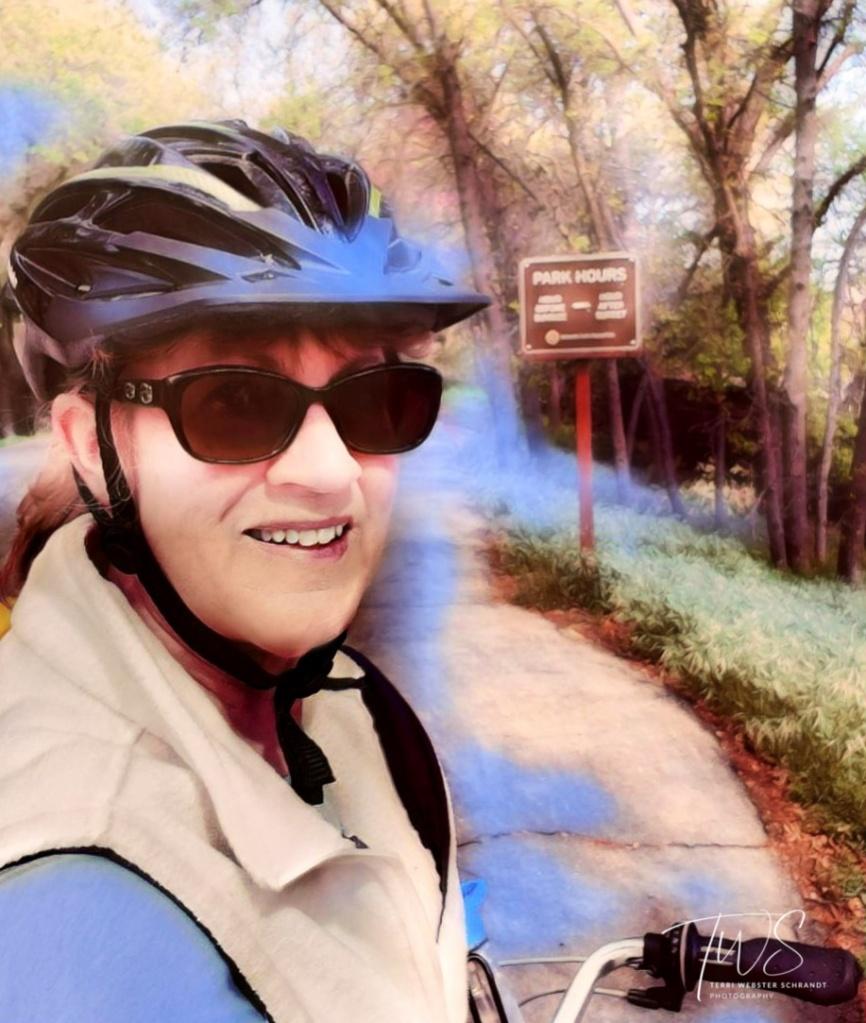 Autumn Bike Ride American River Bike Trail