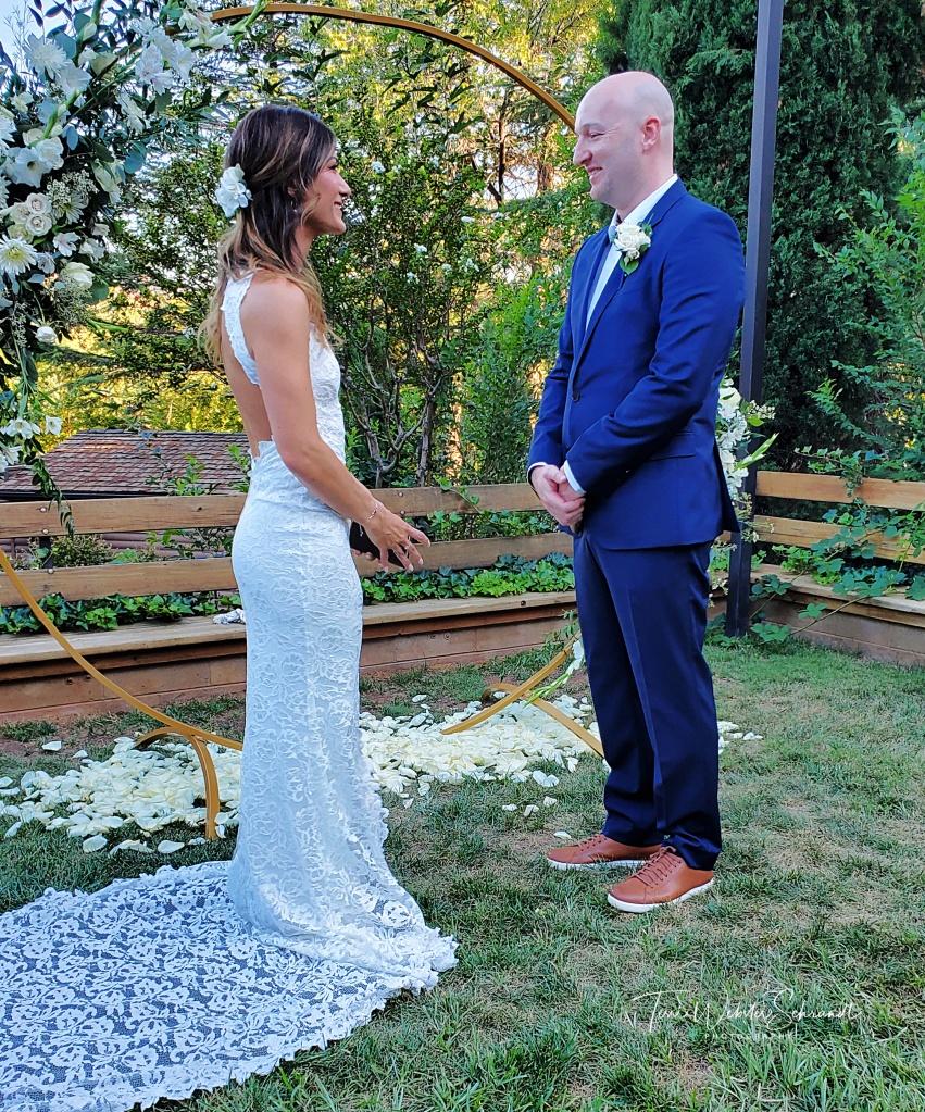 Wedding vows in Sedona