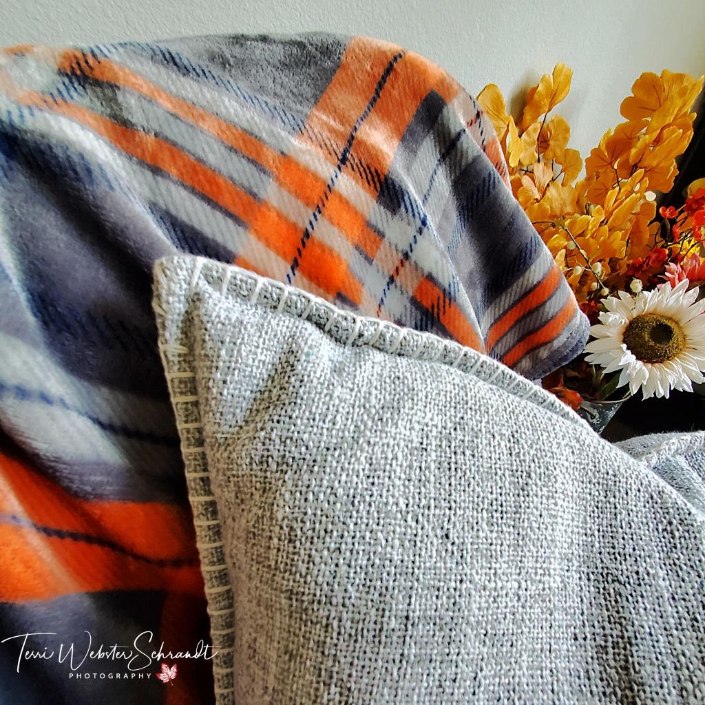 Cozy blanket Autumn Decor