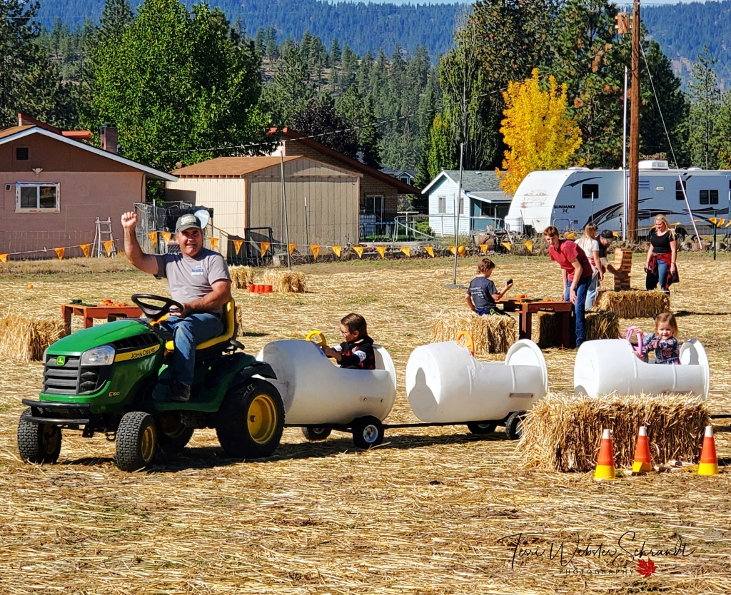 Fall Fest Tractor Ride